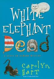 Cover of: White elephant dead: a death on demand mystery