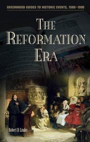 Cover of: The Reformation Era (Greenwood Guides to Historic Events 1500-1900)