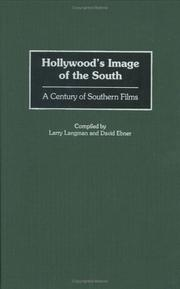 Cover of: Hollywood's image of the South