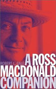 Cover of: A Ross MacDonald companion