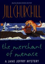Cover of: The merchant of menace: a Jane Jeffry mystery