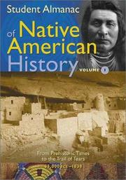 Cover of: Student Almanac of Native American History | Media Projects Incorporated