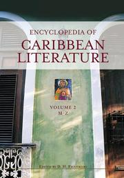 Cover of: Encyclopedia of Caribbean Literature [Two Volumes] | D. H. Figueredo