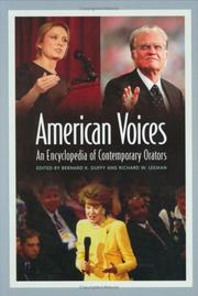 American Voices: An Encyclopedia of Contemporary Orators
