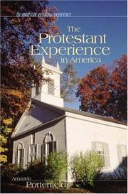 Cover of: The Protestant Experience in America (The American Religious Experience) | Amanda Porterfield