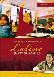 Cover of: The Praeger Handbook of Latino Education in the U.S. [Two Volumes]