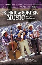 Cover of: Ethnic and Border Music | Norm Cohen