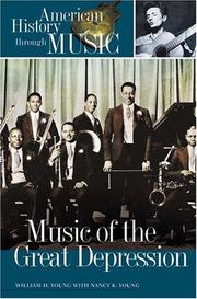 Cover of: Music of the Great Depression