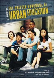 Cover of: The Praeger handbook of urban education