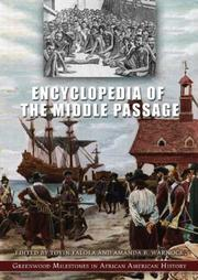 Cover of: Encyclopedia of the middle passage