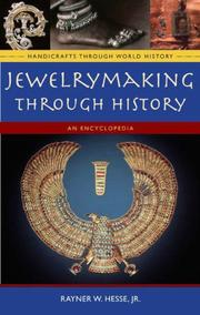Cover of: Jewelrymaking through History | Rayner Wilson Hesse