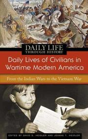Cover of: Daily lives of civilians in wartime modern America