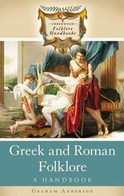 Cover of: Greek and Roman Folklore | Graham Anderson