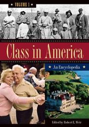 Cover of: Class in America [Three Volumes]