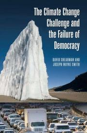 Cover of: The climate change challenge and the failure of democracy