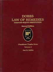 Dobbs Law of Remedies by Dan B. Dobbs
