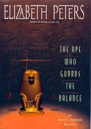 Cover of: The Ape who Guards the Balance
