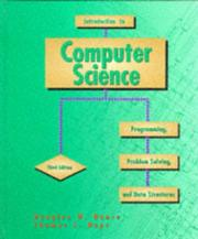 Cover of: Introduction to computer science