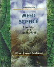 Cover of: Weed science | Wood Powell Anderson