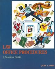 Cover of: Law Office Procedures