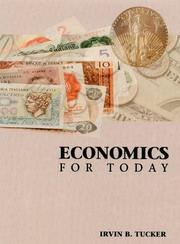 Economics for today by Irvin B. Tucker
