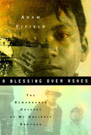 Cover of: A Blessing over Ashes
