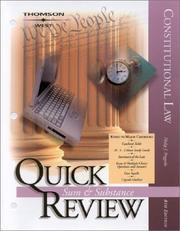 Constitutional Law, Quick Review, 2003