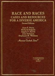Cover of: Race and races