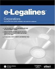 Cover of: E-Legalines Software | Gilbert Staff