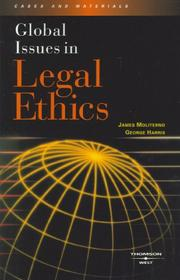 Cover of: Global Issues in Legal Ethics