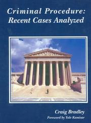 Cover of: Criminal Procedure | Craig M. Bradley