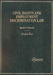 Cover of: Civil rights and employment discrimination law