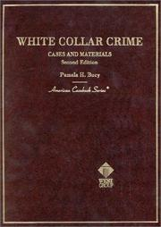 Cover of: White collar crime