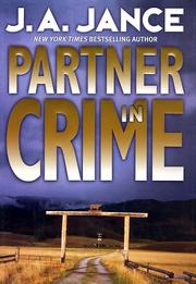Partner in crime by J. A. Jance