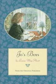 "Cover of: Jo's boys and how they turned out: a sequel to ""Little men"""