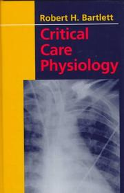 Cover of: Critical care physiology