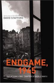 Cover of: Endgame, 1945