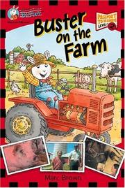 Cover of: Buster on the farm | Marc Tolon Brown