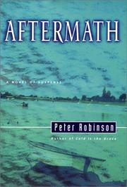 Aftermath by Peter Robinson, Robinson, Peter