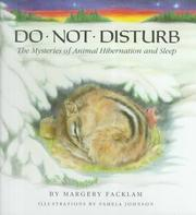 Cover of: Do Not Disturb | Margery Facklam
