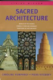 Sacred Architecture by Caroline Humphrey