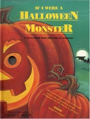 Cover of: If I Were a Halloween Monster