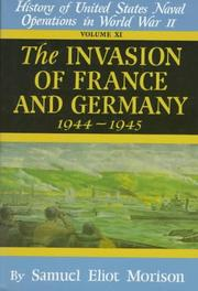 Cover of: Invasion of France & Germany