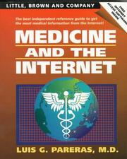 Cover of: Medicine and the internet