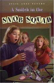Cover of: A snitch in the Snob Squad
