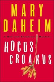 Cover of: Hocus croakus: a bed-and-breakfast mystery