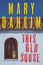 Cover of: This old souse: a bed-and-breakfast mystery
