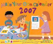 Cover of: Make Your Own Calendar 2007