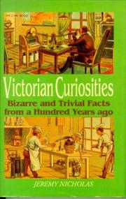 Cover of: Victorian Curiosities
