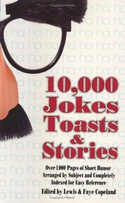 Cover of: 10,000 jokes, toasts & stories